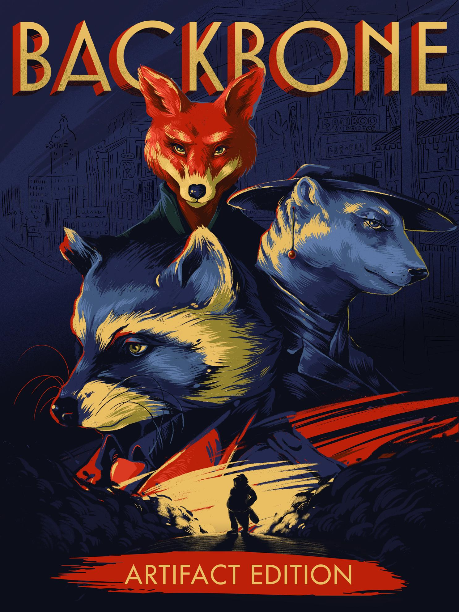 Backbone - The Artifact Edition | Middle East (1f4a8d49-bb26-4559-83e1-bbb855dd5a79)