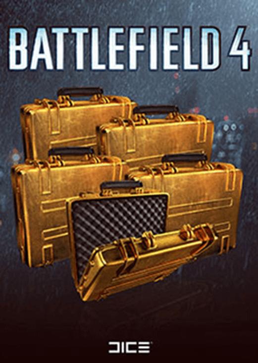 Battlefield 4™: 5x Gold Battlepacks