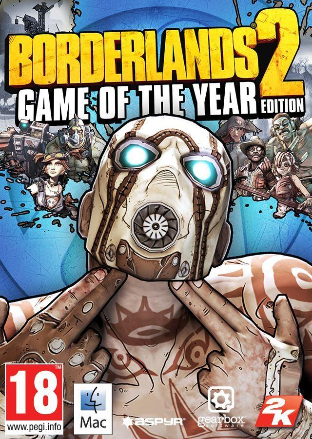 Borderlands 2 Game of the Year Edition (MAC)