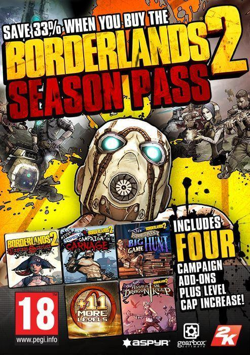 Borderlands 2 Season Pass (MAC)