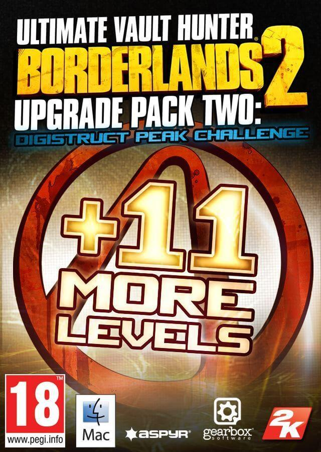 Borderlands 2: Ultimate Vault Hunter Upgrade Pack 2: Digistruct Peak Challenge (MAC)