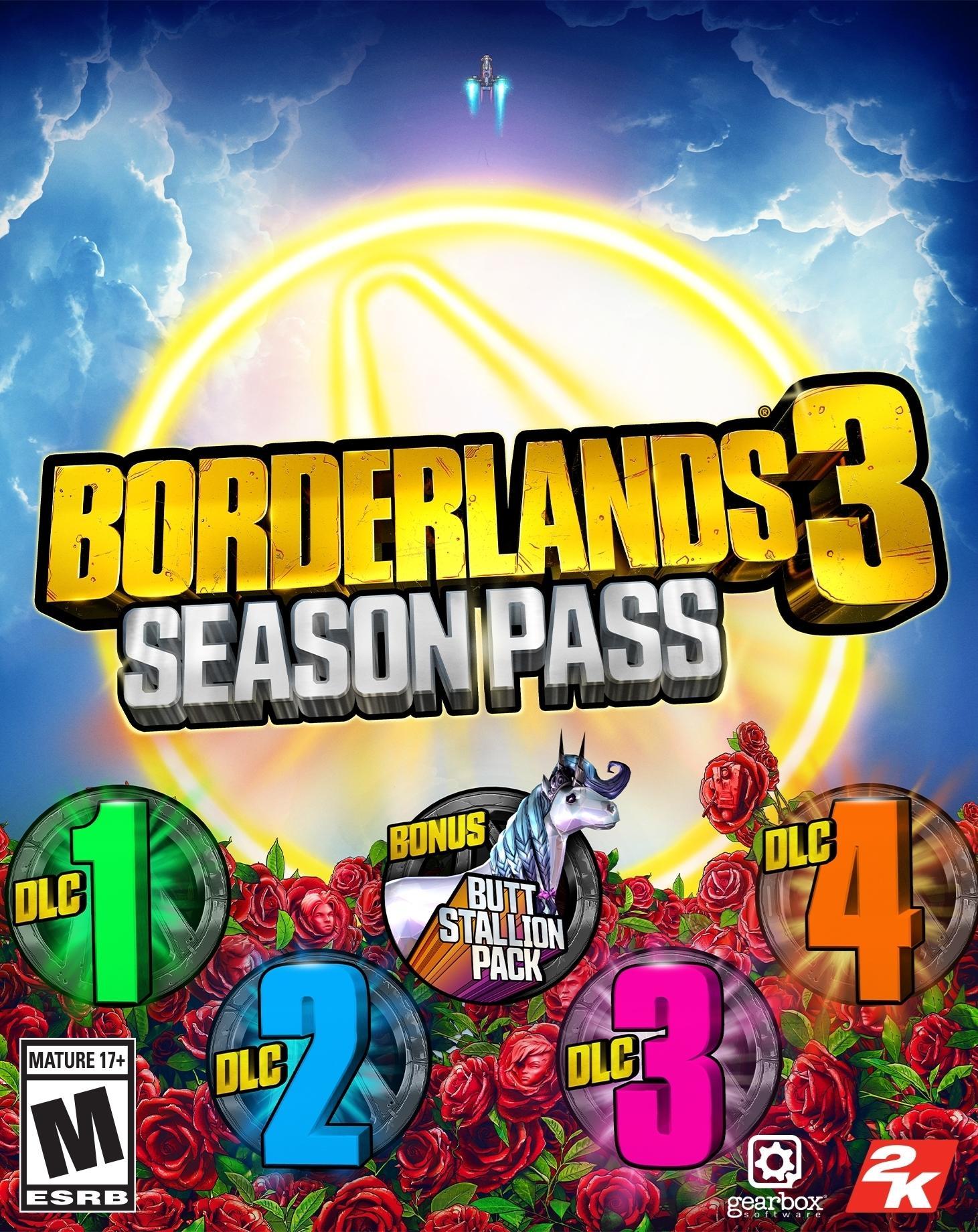 Borderlands 3 Season Pass (Steam) | ROW (ad540fdc-914c-4269-9ad6-c25b9cc1906d)
