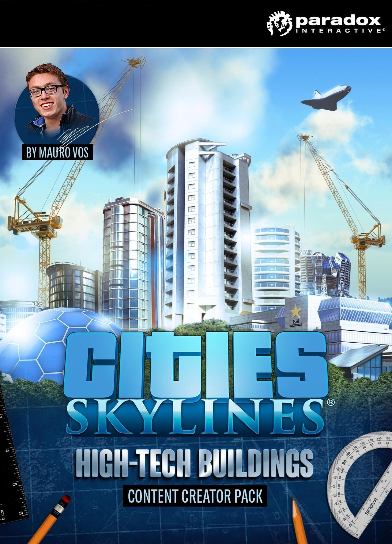 Cities: Skylines - Content Creator Pack: High-Tech Buildings (NEW) | LATAM_RU-CIS_TR (adf3d7ce-18fa-40d2-9130-601028cc1e77)