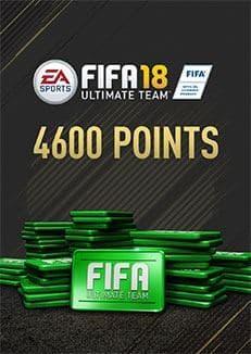 FIFA 18 Ultimate Team FIFA Points 4600