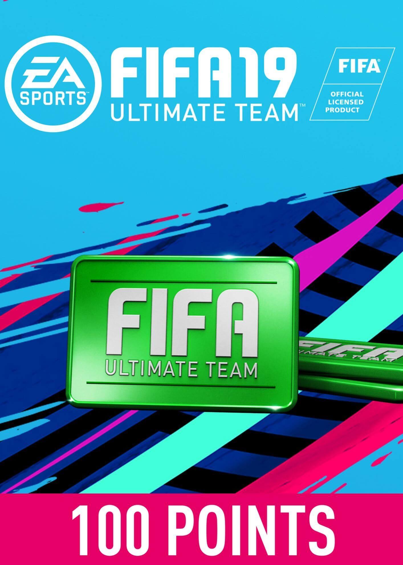 FIFA 19 ULTIMATE TEAM FIFA POINTS 100