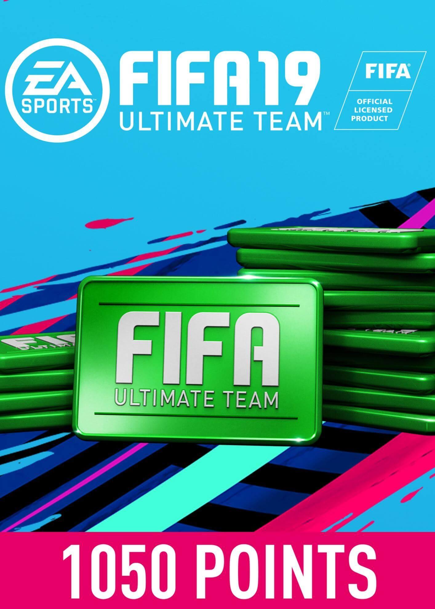 FIFA 19 ULTIMATE TEAM FIFA POINTS 1050
