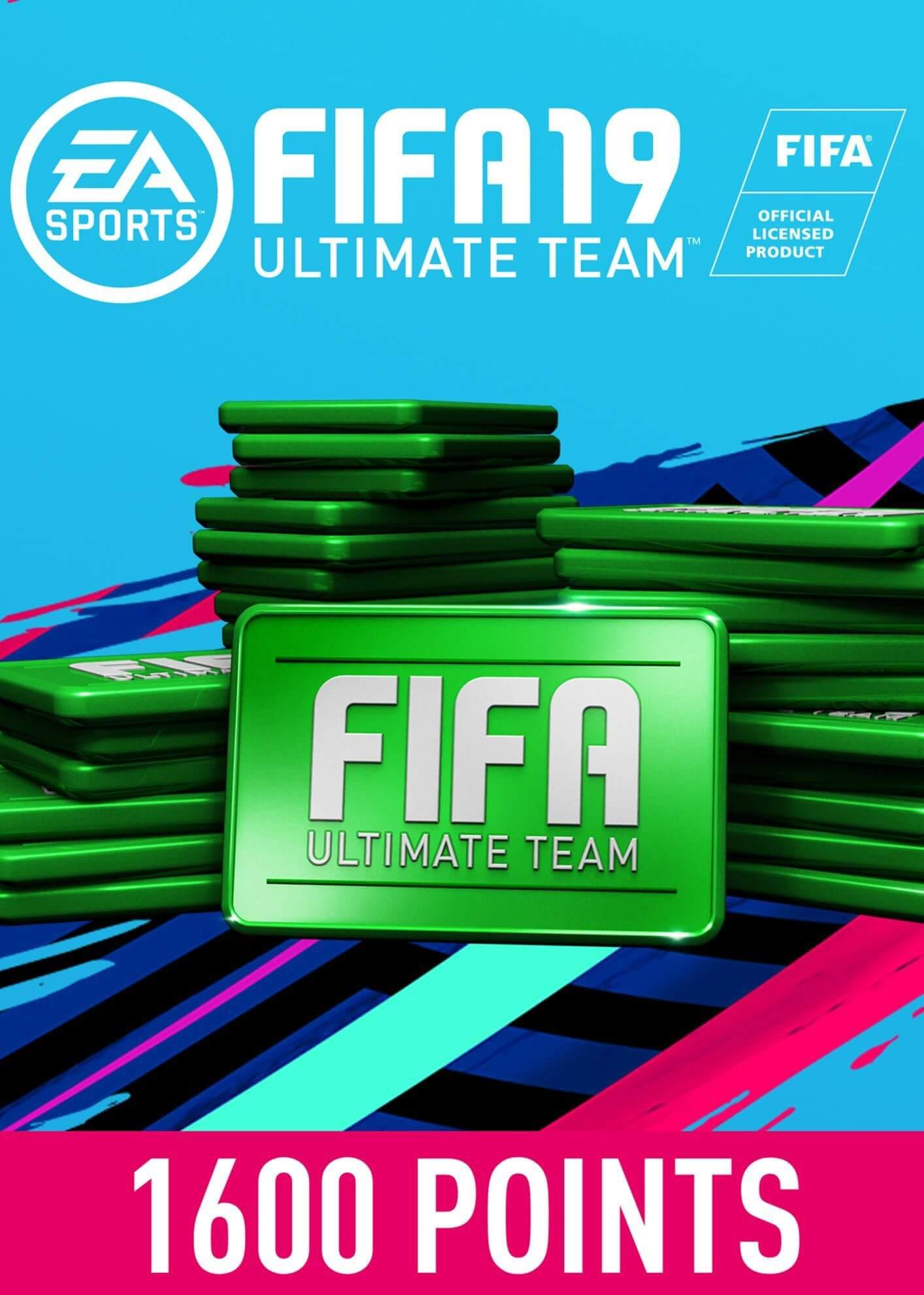 FIFA 19 ULTIMATE TEAM FIFA POINTS 1600