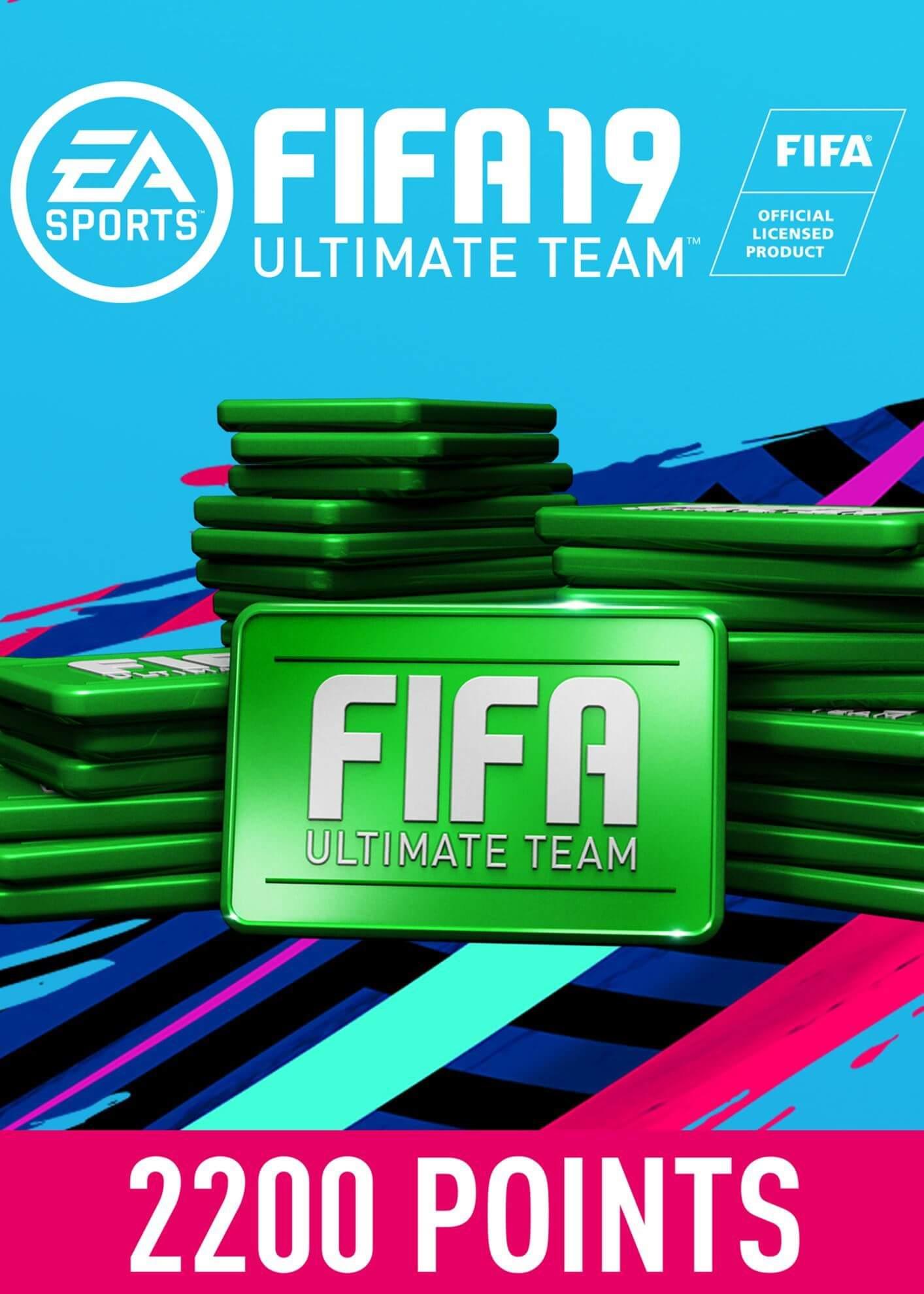FIFA 19 ULTIMATE TEAM FIFA POINTS 2200