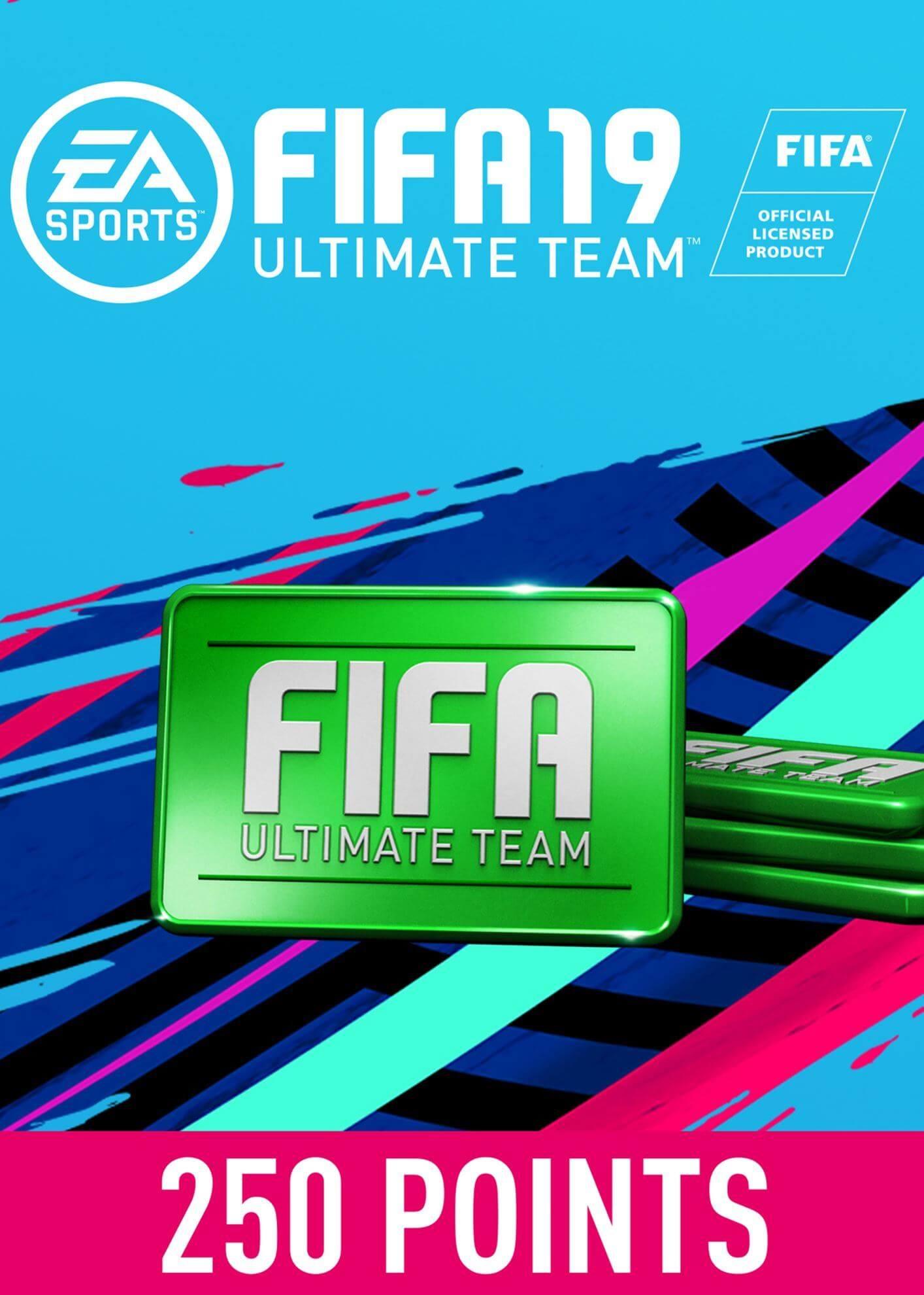 FIFA 19 ULTIMATE TEAM FIFA POINTS 250