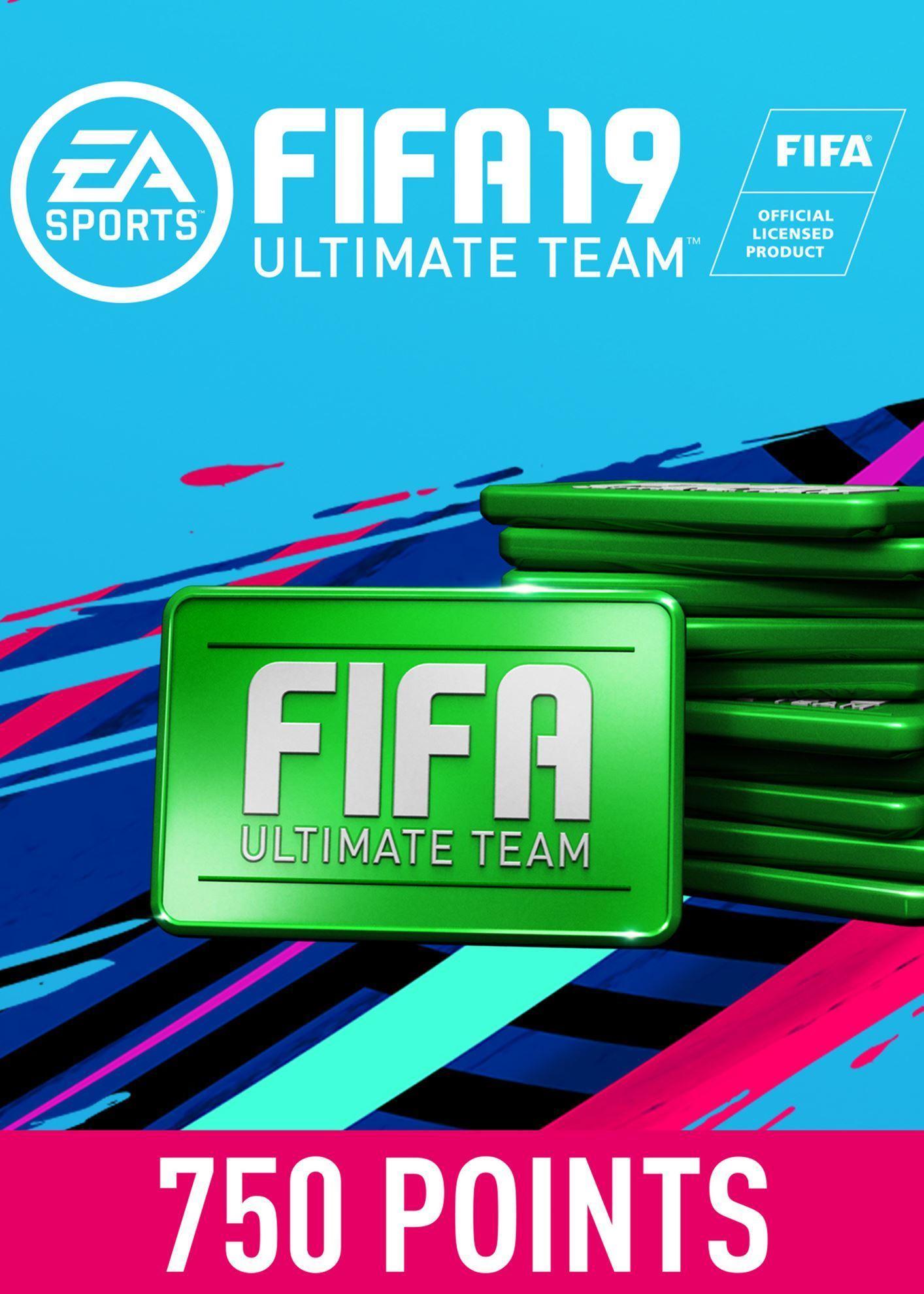 FIFA 19 ULTIMATE TEAM FIFA POINTS 750