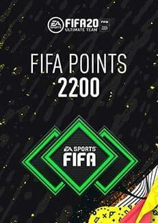 FIFA 20 ULTIMATE TEAM FIFA POINTS 2200 WW