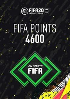 FIFA 20 ULTIMATE TEAM FIFA POINTS 4600 WW