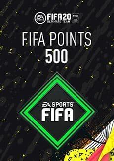 FIFA 20 ULTIMATE TEAM FIFA POINTS 500 WW