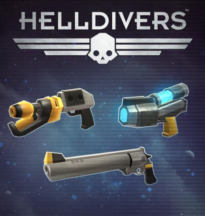 Picture of HELLDIVERS™ Pistols Perk Pack