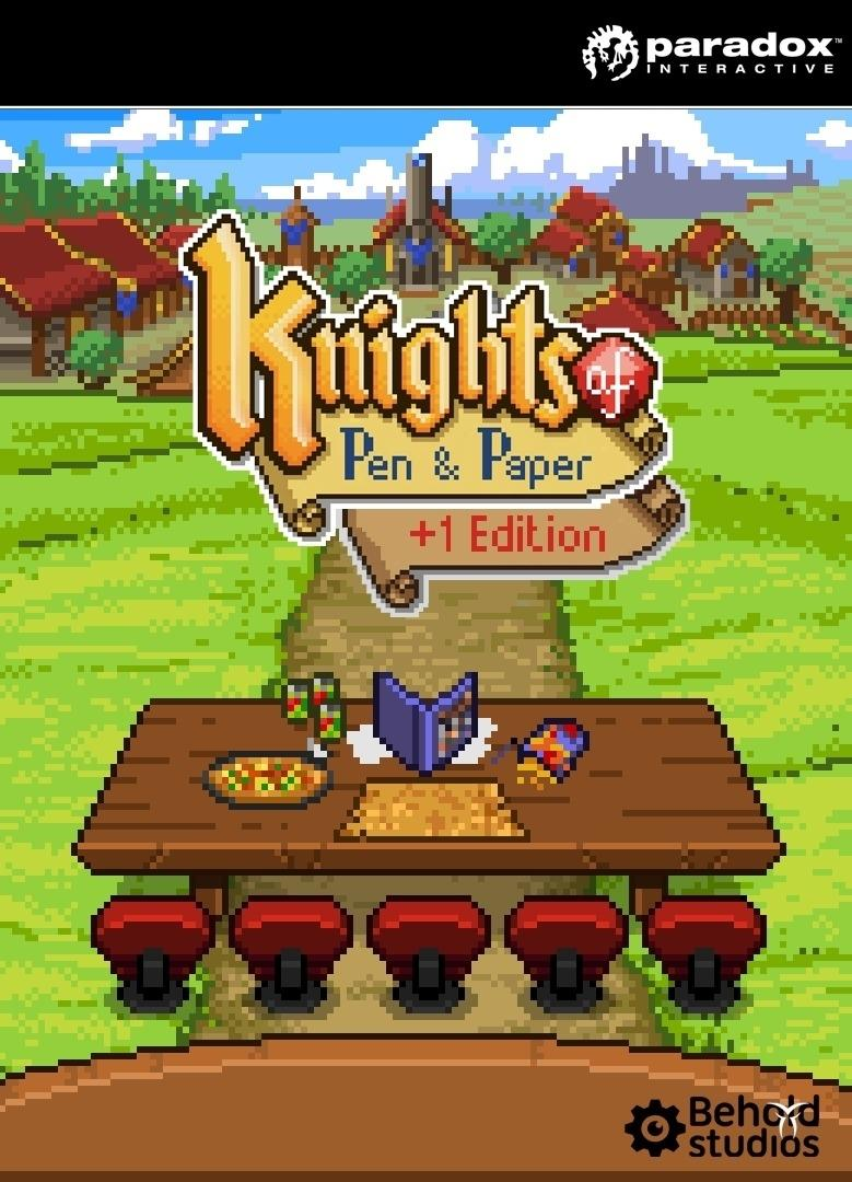 Knights of Pen and Paper + 1 Edition | WW (3d91482b-43f9-4be9-a66e-259154c071c6)