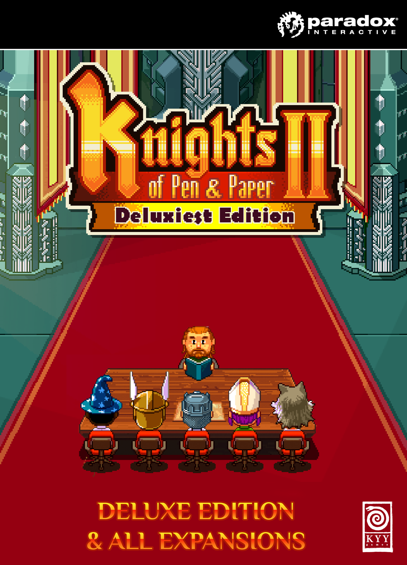 Knights of Pen and Paper 2 - Deluxiest Edition | ROW (a1fbac0e-c37e-4a58-9131-d65d84d68c49)
