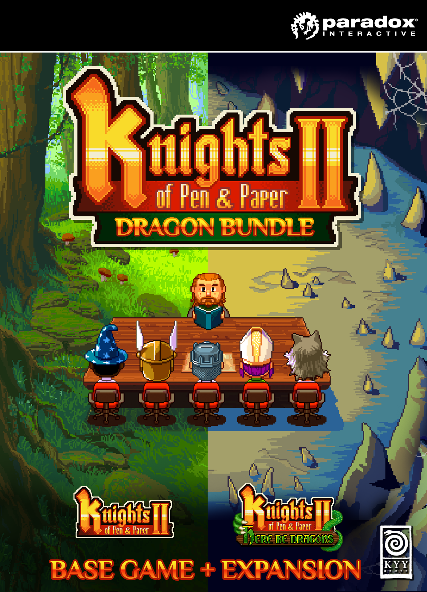 Knights of Pen and Paper 2 - Dragon Bundle | ROW (26f611c2-4366-4663-971d-596e46d46d90)