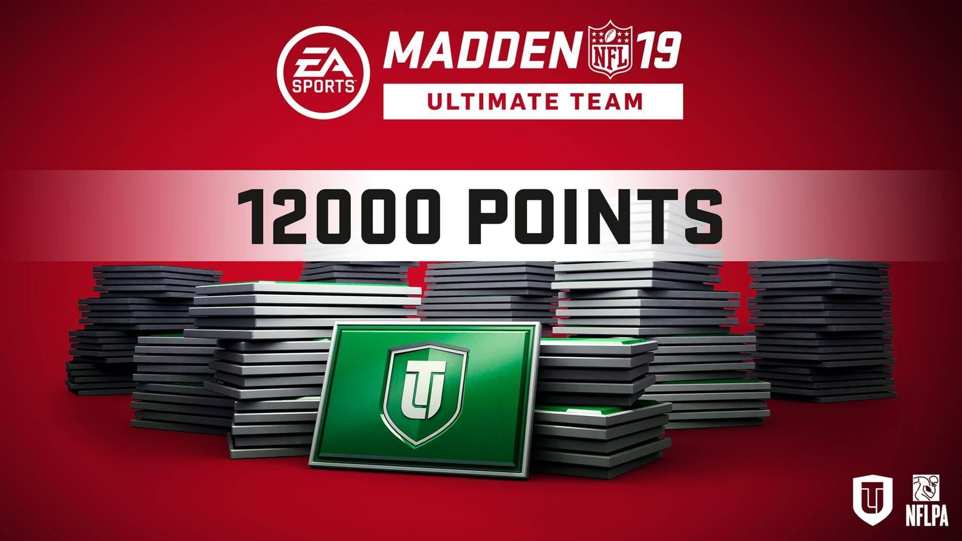 Madden NFL 19 Ultimate Team 12000 Points Pack