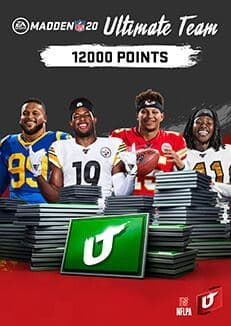 Madden NFL 20: 12000 Madden Ultimate Team Points