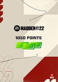 Madden NFL 22 1050 Madden Points
