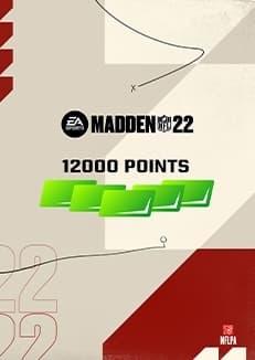 Madden NFL 22 12000 Madden Points