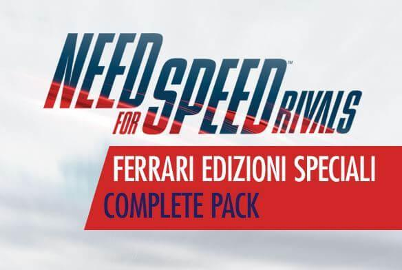 Need For Speed Rivals Ferrari Edizioni Speciali Complete Pack
