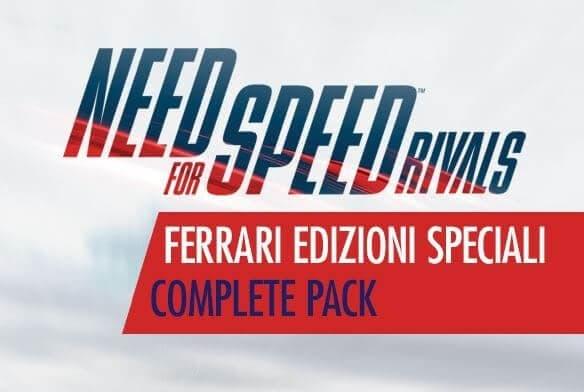 Need For Speed Rivals Ferrari Edizioni Speciali Complete Pack