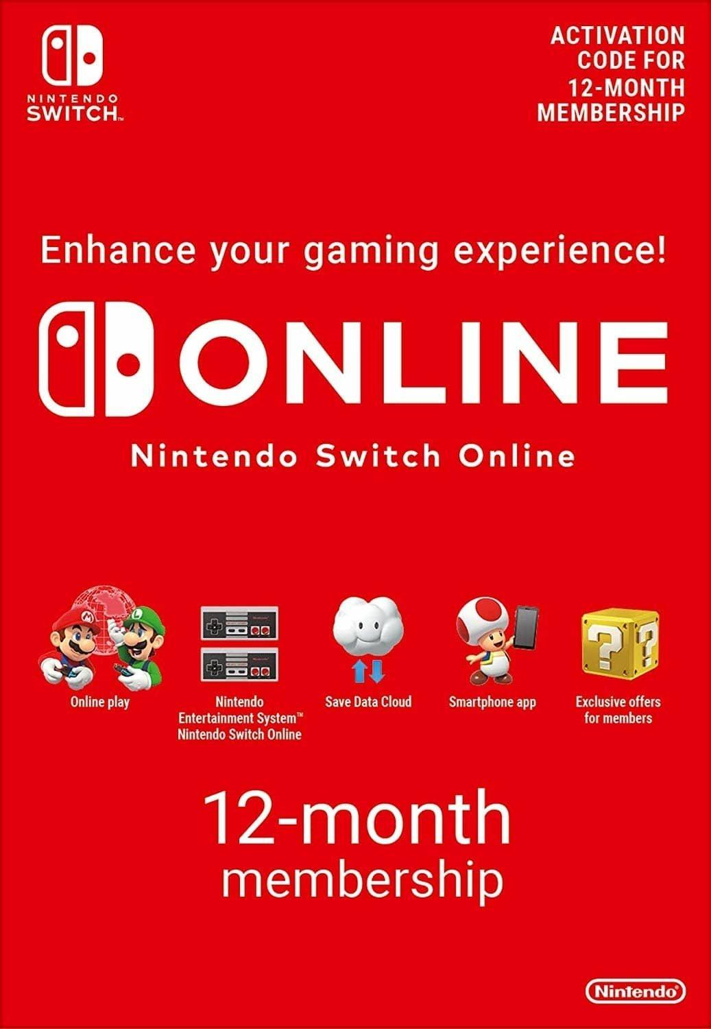 Immagine di Nintendo Switch Online (Family Membership - 12 months)