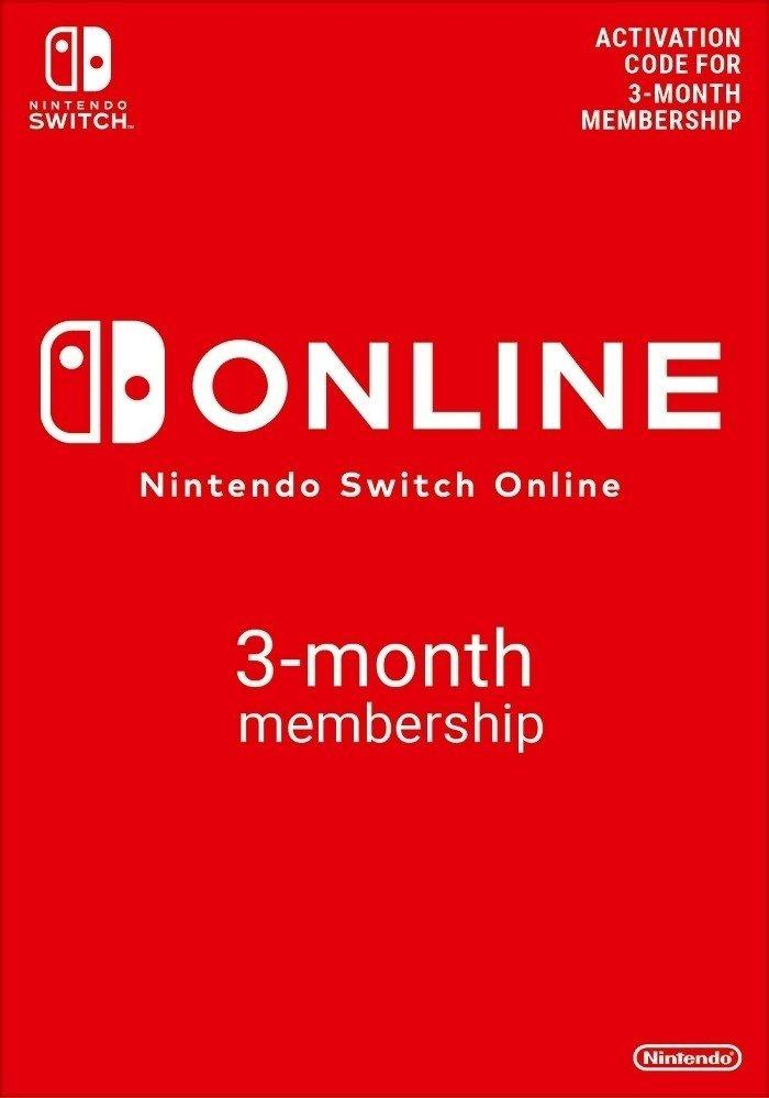 Picture of Nintendo Switch Online (Individual Membership - 3 months)