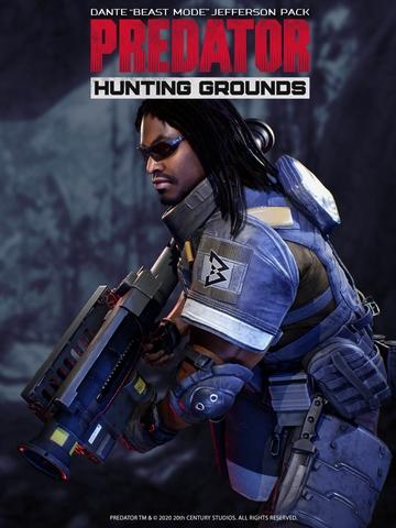 "Zdjęcie Predator: Hunting Grounds - Dante ""Beast Mode"" Jefferson Pack"