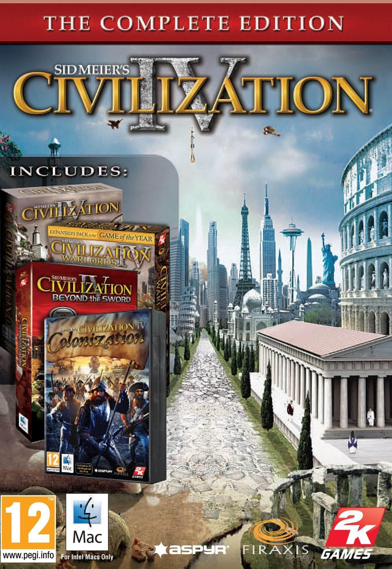 Sid Meier's Civilization® IV: The Complete Edition (MAC)