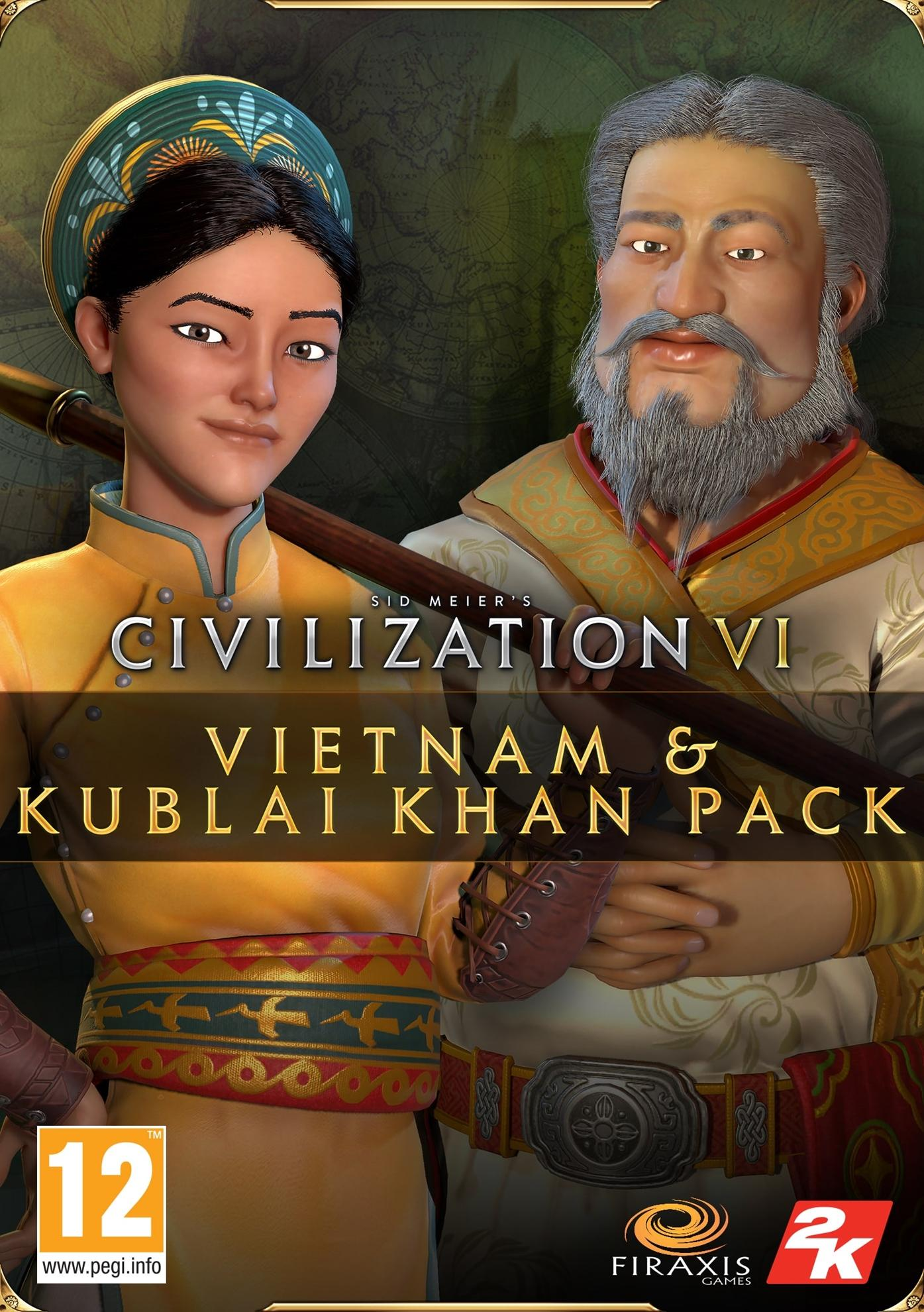 Sid Meier's Civilization® VI - Vietnam & Kublai Khan Civilization & Scenario Pack (Epic)