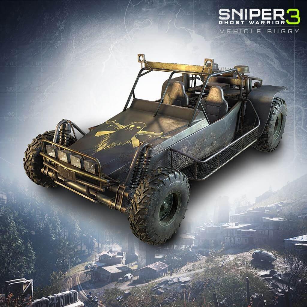 Sniper Ghost Warrior 3 - All-terrain vehicle