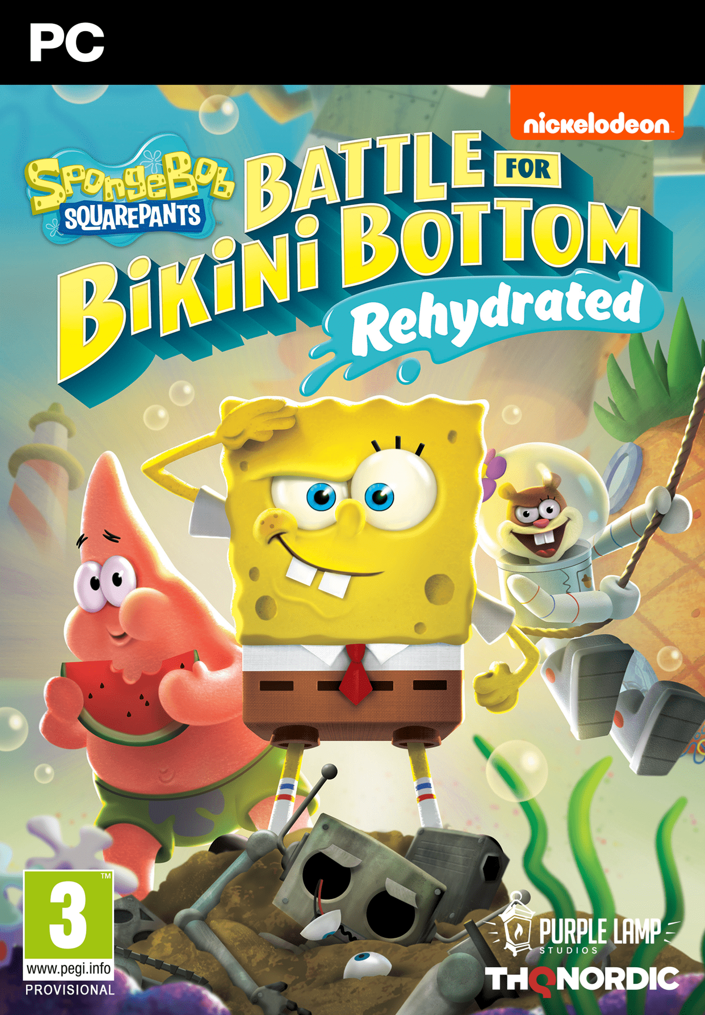 Bild von SpongeBob SquarePants: Battle for Bikini Bottom - Rehydrated