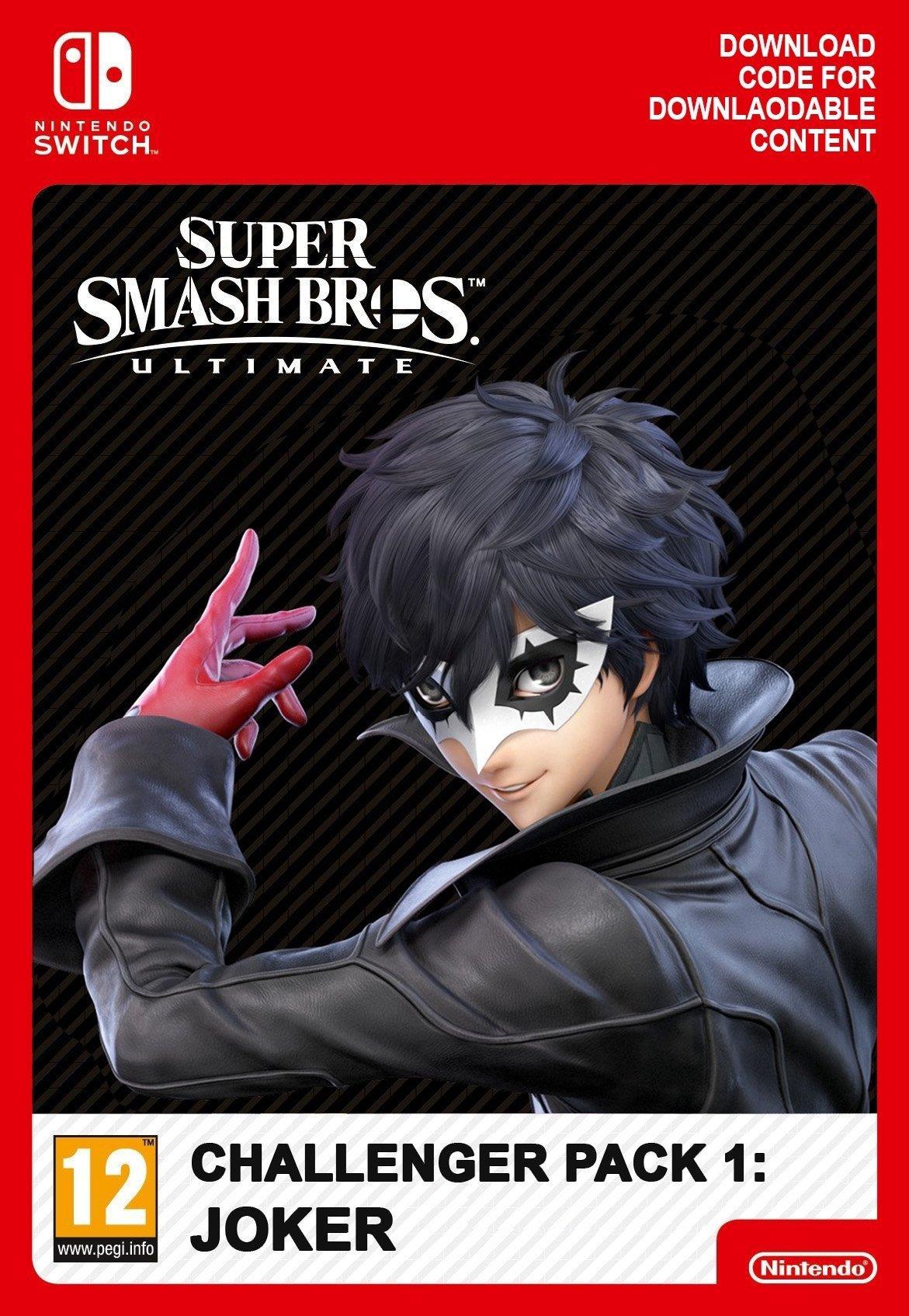 Resim Super Smash Bros Ultimate - Joker Challenger Pack