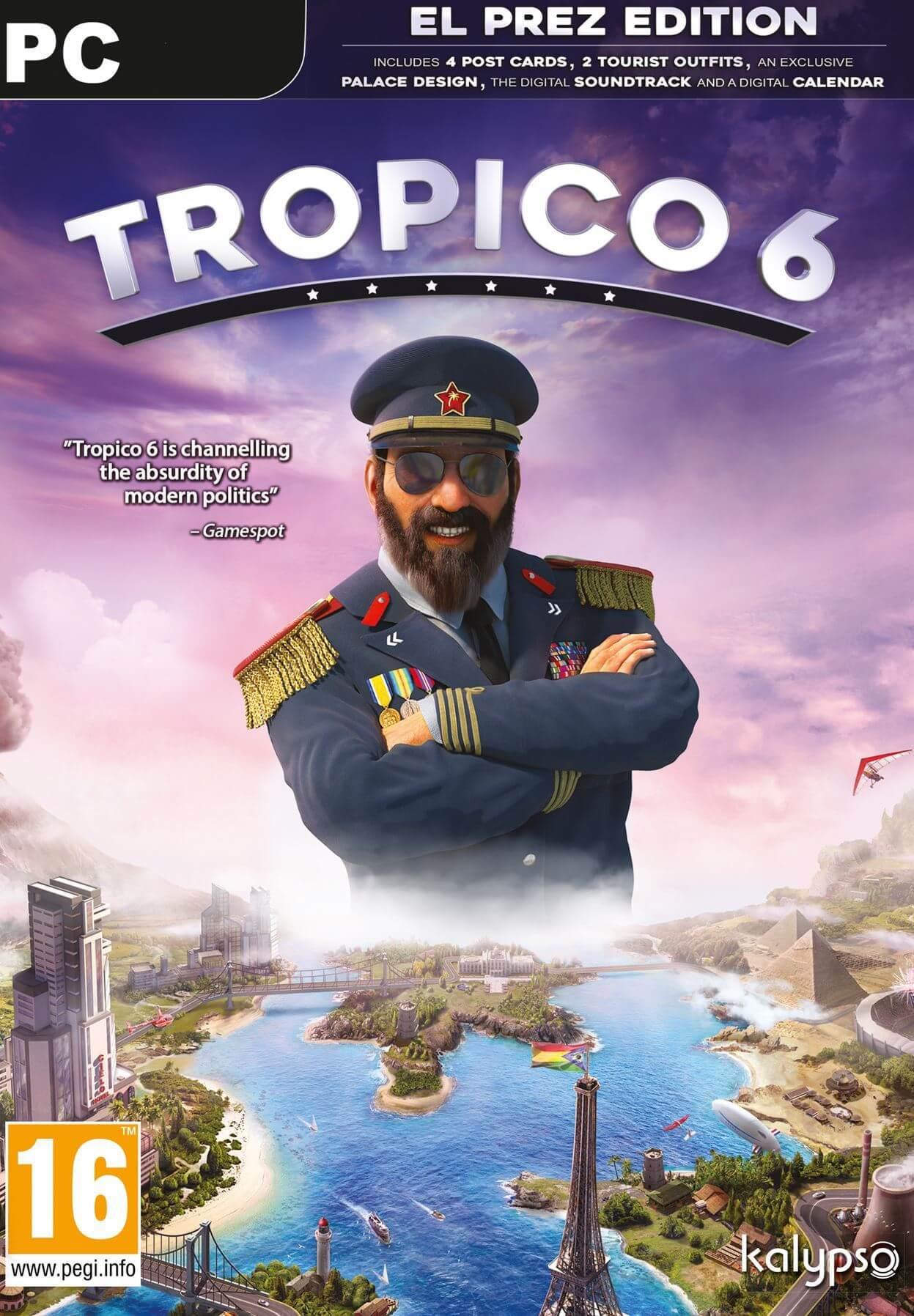 Bild von Tropico 6 El Prez Edition Pre-Order