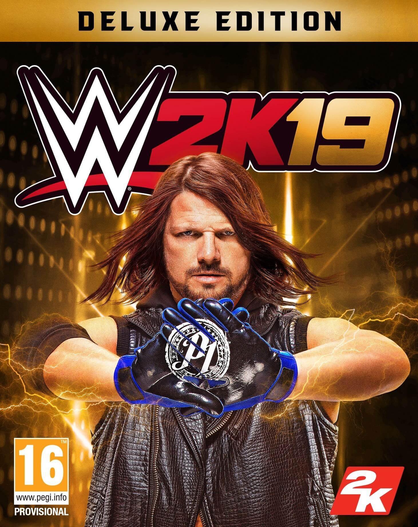 WWE 2K19 Digital Deluxe Edition  (ROW)