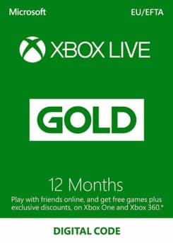 Picture of Xbox Live 12 Month Gold Membership