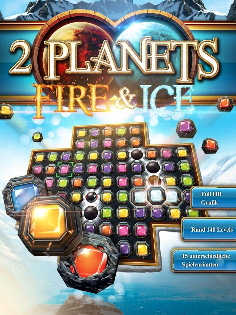 Picture of 2 Planets Fire & Ice