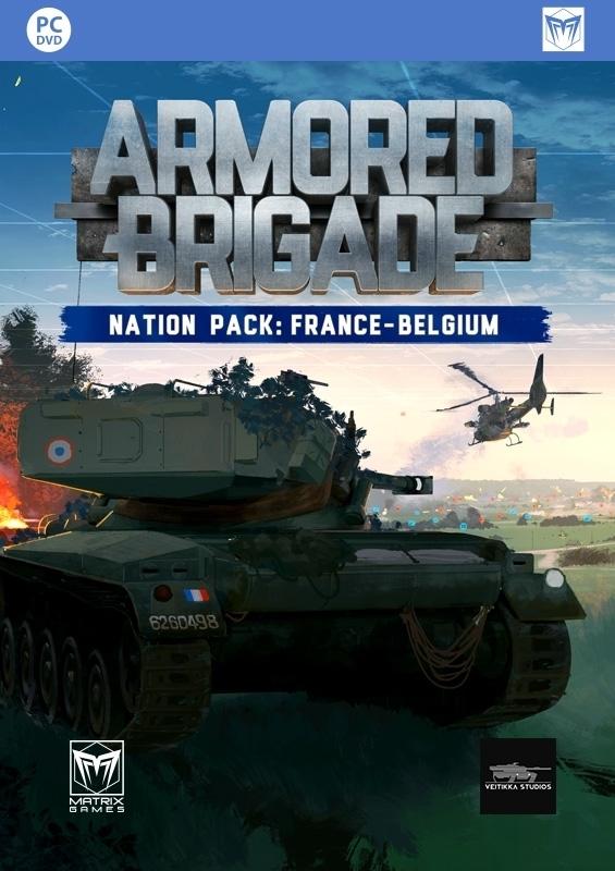 Armored Brigade Nation Pack: France - Belgium | ROW (ad86c373-4cd6-48d9-bab1-e3da663fc017)