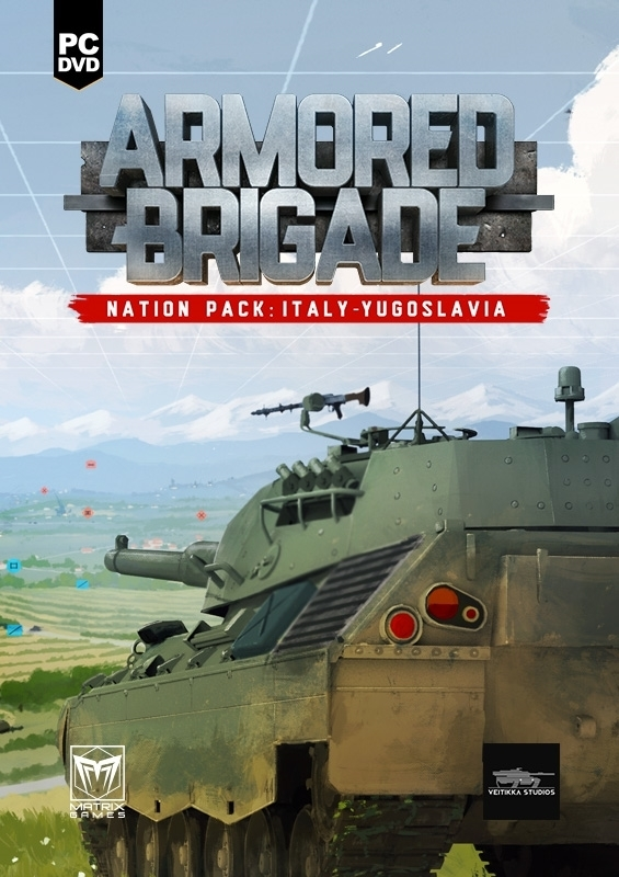 Armored Brigade Nation Pack: Italy - Yugoslavia
