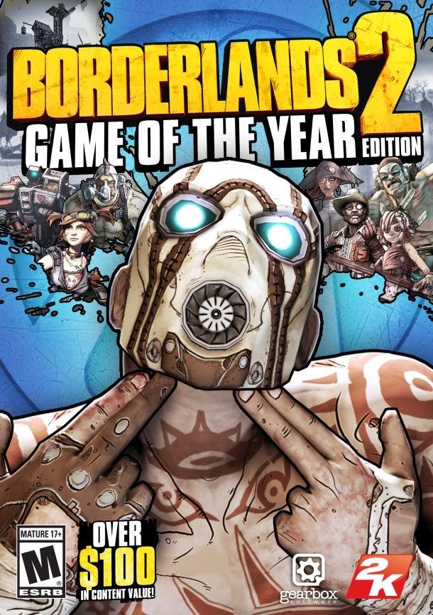 Borderlands 2: Game of the Year Edition. ürün görseli
