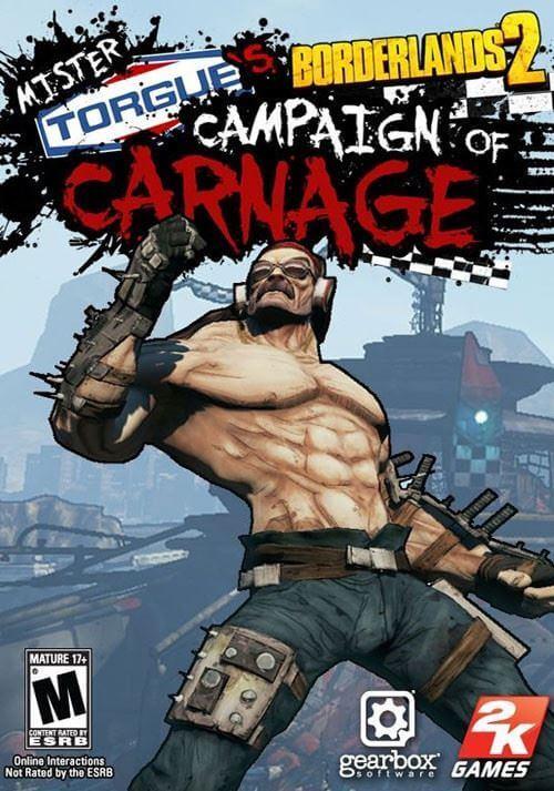 Borderlands 2 : Mr. Torgue's Campaign of Carnage. ürün görseli