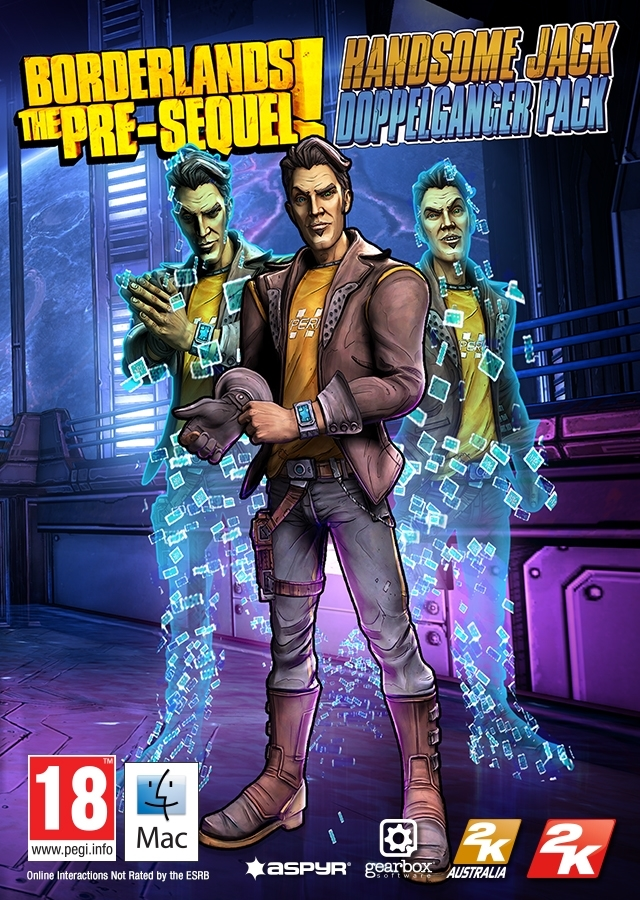Borderlands: The Pre-Sequel - Handsome Jack Pack  (MAC)