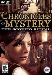 Afbeelding van Chronicles of Mystery: The Scorpio Ritual