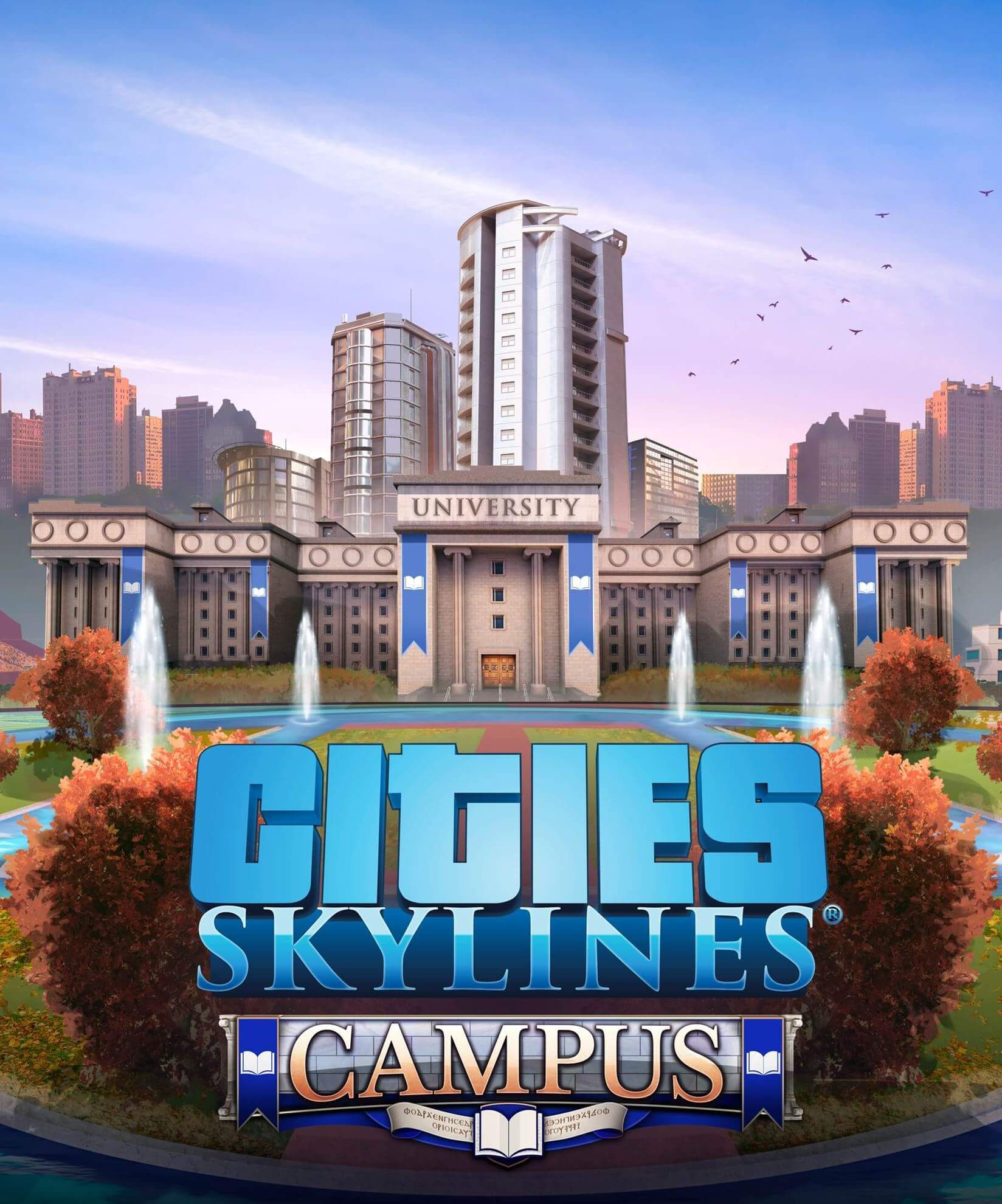 Cities: Skylines - Campus. ürün görseli
