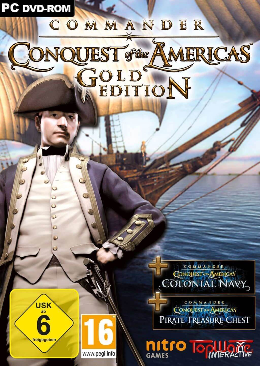 Commander : Conquest of the Americas - Gold (WW)