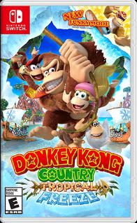 Donkey Kong Country: Tropical Freeze. ürün görseli