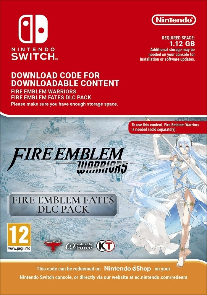 Picture of FE Warriors: Fire Emblem Fates Pack