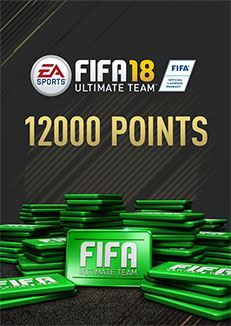 FIFA 18 Ultimate Team FIFA Points 12000